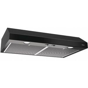 BROAN BCSD130BL Range Hood, Under Cabinet, Black, 1.4A | CD3XNZ 53UL04
