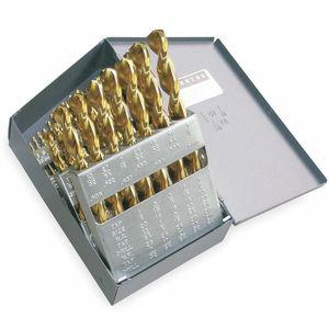 CLE-LINE C18703 Jobber Drill Bit Set, High Speed Steel, 29 Pieces | CD2YQB 1TPD1