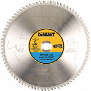 DEWALT DWA7739 Circular Saw Blade, 12 Inch Size, Stainless Steel, Number of Teeth 80 | CD3UKR 30HJ71