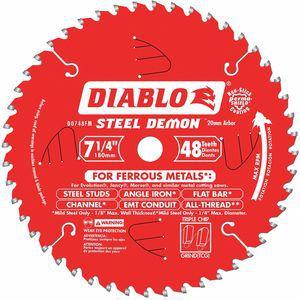DIABLO   D0748FM   CD2FQN   52XF57   Circular Saw Blade