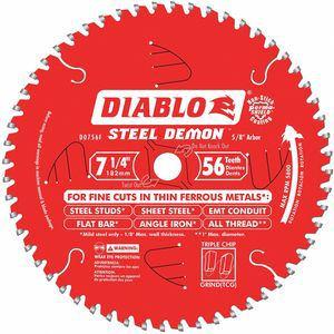 DIABLO | D0756F | CD2HMJ | 52XF60 | Circular Saw Blade