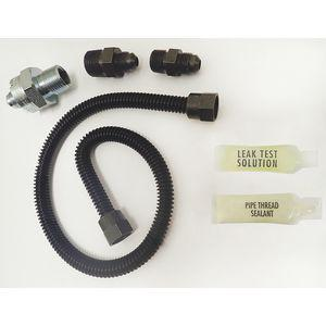 DORMONT 10A-2131V2KIT-TS-24B Gas Flow Valve Kit, Stainless Steel, 24 x 3/8 Inch Inch Size | CD2YYU 406R69