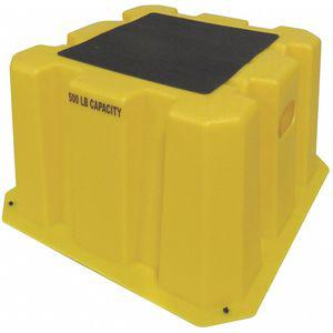 DPI NBST-1-14 Step Stand, 14-3/4 Inch Overall Height, 500 Lbs. Load Capacity | CD3XDP 403U22