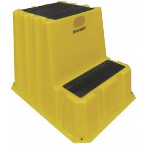 DPI NTXST-2-14 Step Stand, 24 Inch Overall Height, 500 Lbs. Load Capacity, Number of Steps 2 | CD3XTK 403U24