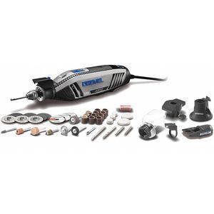 DREMEL 4300-5/40 Rotary Tool Kit, 120V, 9 Inch Length   CD2YVV 52YP65