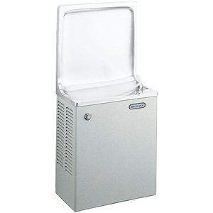 ELKAY ESWA8S1Z Refrigerated Wall Water Cooler, 1 Level, Front Push Button Dispenser Operation | CD3XRA 34J970