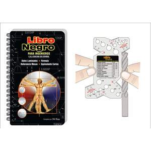 ENGINEERS BLACK BOOK EBB-USA-ESP Engineers Black Book, Inch Type, Pocket Size, Spanish | CD4RDL