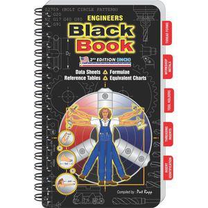 ENGINEERS BLACK BOOK 3rd Edition | EBB3INCHL | CD4RDK | Engineers Black Book