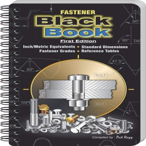 ENGINEERS BLACK BOOK FBB-USA Fastener Black Book, Metric Type, English | CD4RDH