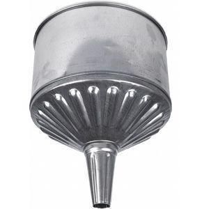 FUNNEL KING 94463 Galvanized Funnel, 8 Qt. Capacity   CD3UWT 53KJ41