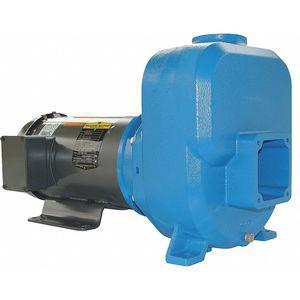 GOULDS WATER TECHNOLOGY 30SPM70 3-HP Self Priming Centrifugal Pump, 105 ft. Max. Head, Cast Iron   CD2MYB 429J01
