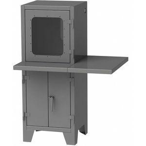 GREENE MANUFACTURING EXC-4372WD Steel Computer Enclosure, Charcoal Gray, 72 x 36 x 43 Inch | CD3FWD 422W84