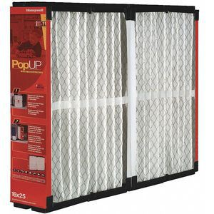 HONEYWELL POPUP2020 Air Cleaner Replacement Filter, 20 x 20 x 5 Inch Size   CD2YYR 278Y54