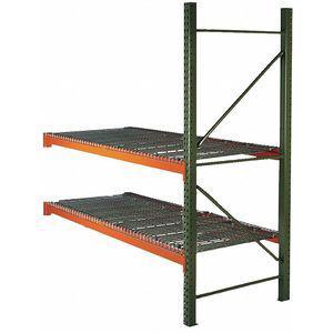 HUSKY 21E930 96 W x 36 D x 96 Inch H Steel Pallet Rack Add-On Unit, 19, 380 Lbs.Capacity | CD2MMY 59LA56