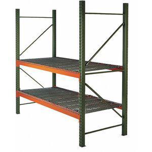 HUSKY 21E919 96 W x 36 D x 96 Inch H Steel Pallet Rack Starter Unit, 19, 380 Lbs. Capacity | CD2MMX 59LA55