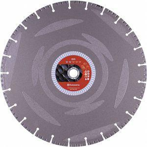 HUSQVARNA DI5 14 14 Inch Wet/Dry Diamond Saw Blade, Segmented Rim Type, Application Demolition | CD2LRG 53DT76