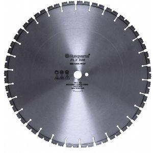 HUSQVARNA FLX 230 30 30 Inch Wet Diamond Saw Blade, Segmented Rim Type, Application Demolition | CD2LRD 53DT56