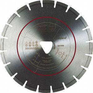 HUSQVARNA FLX14-3000PV 14 14 Inch Wet Diamond Saw Blade, Segmented Rim Type, Application Demolition | CD2LRE 53DT58