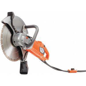 HUSQVARNA K4000 WET Handheld Concrete Saw, 14 Inch Blade Dia., 5 Inch Cut Depth, Electric, 2.4 HP | CD3VMN 462R81