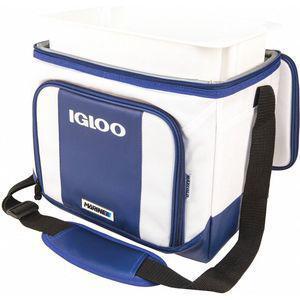 IGLOO 62909 Soft Sided Cooler, Plastic, 2 Gallon, White | CD3LVU 444A39