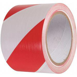 INCOM MANUFACTURING VHT311 Marking Tape, Striped, Continuous Roll, 3 Inch Width | CD3WKZ 462D05