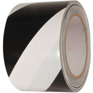 INCOM MANUFACTURING VHT312 Marking Tape, Striped, Continuous Roll, 3 Inch Width | CD2PGY 462D06