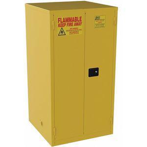 JAMCO BV1YP Hazardous Waste And Drum Storage Cabinet, 65 x 34 x 34 Inch Size, 55 Gallon   CD2UHF 8E868