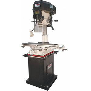 JET 350401 Mill/Drill Machine, 2 Motor HP, 15-7/8 Inch Swing, 150 to 3000 RPM | CD3TWG 45PD01