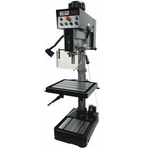 JET JDP-20EVST-460 Floor Drill Press, 2 Motor HP, Belt Drive Type, 20 Inch Swing, 460 Voltage | CD3AWZ 52XJ01