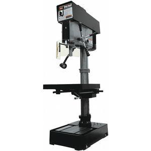 JET JDP-20VS-3 Floor Drill Press, 2 Motor HP, Belt Drive Type, 20 Inch Swing, 230/460 Voltage | CD2YXX 53ZC50