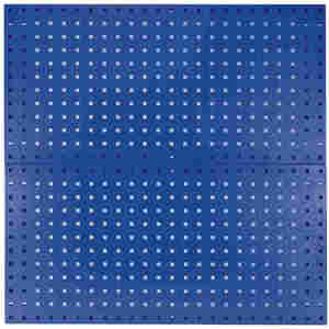 KENNEDY 50002BL Pegboard Panel, 60 Lbs. Load Capacity, 36 Inch H x 18 Inch W, Blue   CD3QPE 54HC02