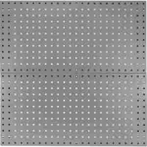KENNEDY 50002UGY Pegboard Panel, With 60 Lbs. Load Capacity, 36 Inch H x 18 Inch W, Gray, 1 PR | CD3TBQ 54HC05