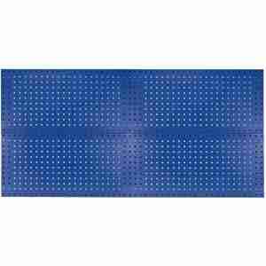 KENNEDY 50004BL Pegboard Panel Kit, 120 Lbs. Load Capacity, 36 Inch H x 18 Inch W, Blue | CD3QWU 54HC06