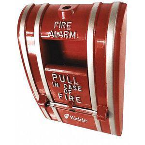 KIDDE K-270-DOC Fire Alarm Pull Station, Red, 2-1/2 Inch D | CD2MQL 405F15