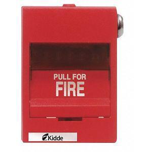 KIDDE K-276B-1120 Fire Alarm Pull Station, Red, 3-3/8 Inch D | CD2MQQ 405F19