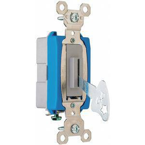 LEGRAND PS15AC1L Wall Switch, Switch Type 1-Pole, Switch Function Maintained   CD2LNK 53CX58
