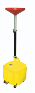 LISLE LS/17432 Oil Lift Drain, 18 Gallon, Quick Release Heigh Adjustment | CD8EKU