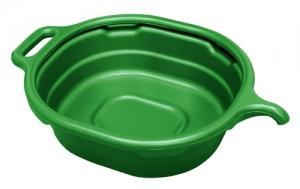LISLE LS/17982 Oil Drain Pan, 4.5 Gallon, Green, Oval | CD8ELT