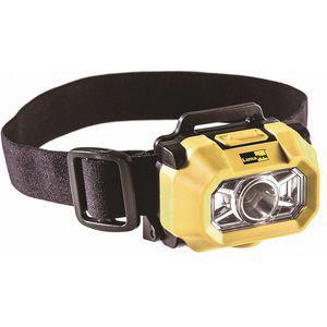 LUMAPRO 49XX78 LED Headlamp, Plastic, Maximum Lumens Output 200, Yellow | CD3PZC 49XX78