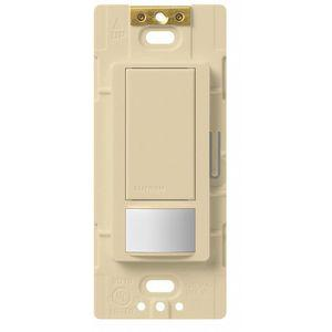 LUTRON MS-OPS6M2-DV-IV Wall Switch Box Occupancy Sensor, 900 Sq. Feet Passive Infrared, Ivory | CD3KDJ 36N229