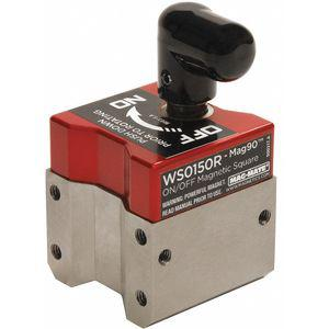 MAG-MATE WS0150R Magnetic Weld Square, 1-1/2 x 1-1/8 Inch, 150 Lbs. Capacity   CD3KEJ 45EX61