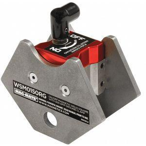 MAG-MATE WSM0150RG Magnetic Weld Angle w/Grd, 4in, 150lb | CD2WNM 45EX68