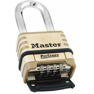MASTER LOCK 1175D Combination Padlock, Resettable Bottom-Dial Location, 1-1/16 Inch Shackle Height | CD2YQT 6MCR0