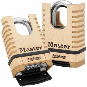 MASTER LOCK 1177 Combination Padlock, Resettable Bottom-Dial Location, 1-1/16 Inch Shackle Height | CD2YRV 38W807
