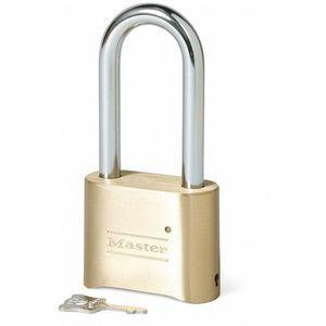 MASTER LOCK 175LH Combination Padlock, Resettable Bottom-Dial Location, 2-1/4 Inch Shackle Height | CD3WUK 1U173