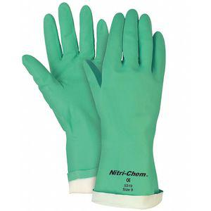MCR SAFETY 5320 Chemical Resistant Gloves, Size XL, 13 InchL, Green | CD3FLP 48GM74