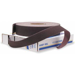 MERIT 08834191518 Abrasive Roll, 150 Feet L x 1 Inch W, 80 Grit | CD3TXX 3DV24