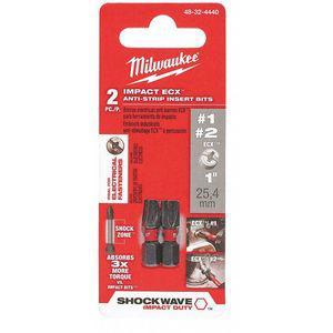 MILWAUKEE 48-32-4440 Insert Bit Set, 1/4 Inch Hex Shank Size | CD2LKR 52WT05