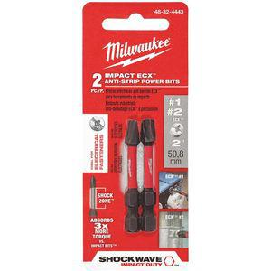 MILWAUKEE 48-32-4443 1/4 Inch ECX? Power Bit, 1/4 Inch Hex | CD2MTT 419J76
