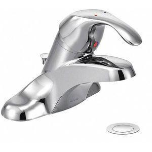 MOEN 8432 Brass Bathroom Faucet, Lever Handle Type, No. of Handles 1 | CD3AWY 52RP94
